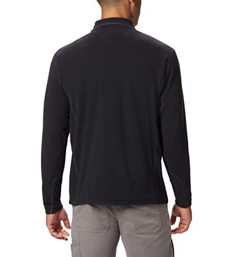 Columbia Men's Half Zip Fleece, Klamath Range II, Black, S