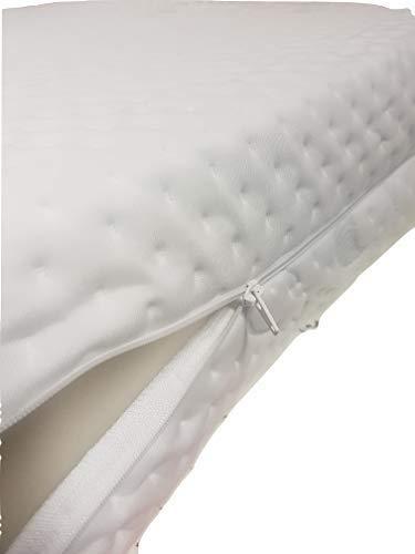 Mail2Mail Matratzenbezug Allergikergeeignet mit 4-seitigem Reißverschluss Cashmere Matratzenschoner, Matratzenbezug alle Größen alle Höhe, (90 x 200 cm)