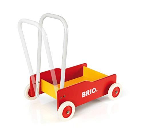 Brio 31350 – Lauflernwagen rot-gelb - 4