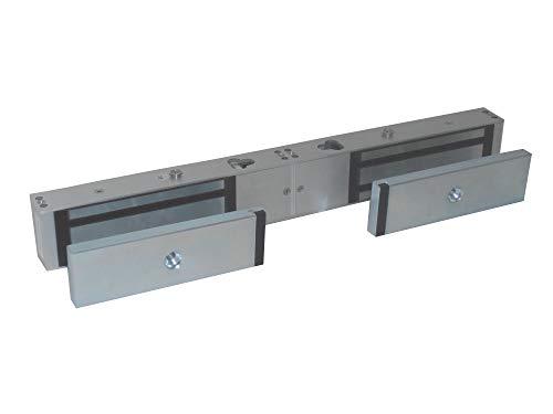 Tesa Assa Abloy CEM600DS0G Cerradura Electromagnética De Sobreponer, Plata, 600 Kg