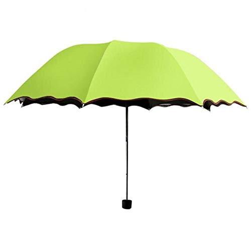 Paraplu's Reizen Paraplu Koepel Parasol Zon/Regen Vouwen Paraplu Prain Vrouwen Transparante Paraplu Knuckles voor Vrouwen