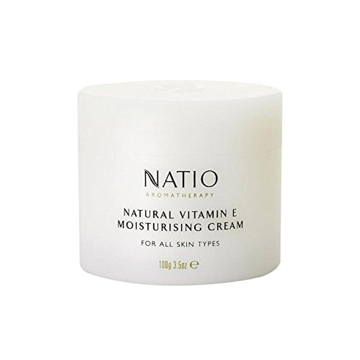 花婿スラム街薬用[Natio] Natio天然ビタミンEの保湿クリーム(100グラム) - Natio Natural Vitamin E Moisturising Cream (100G) [並行輸入品]