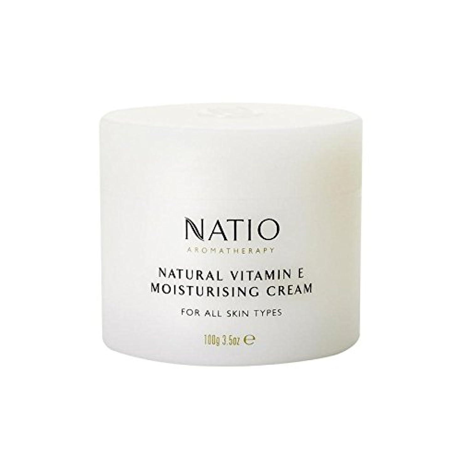 トンネル白内障脱走[Natio] Natio天然ビタミンEの保湿クリーム(100グラム) - Natio Natural Vitamin E Moisturising Cream (100G) [並行輸入品]