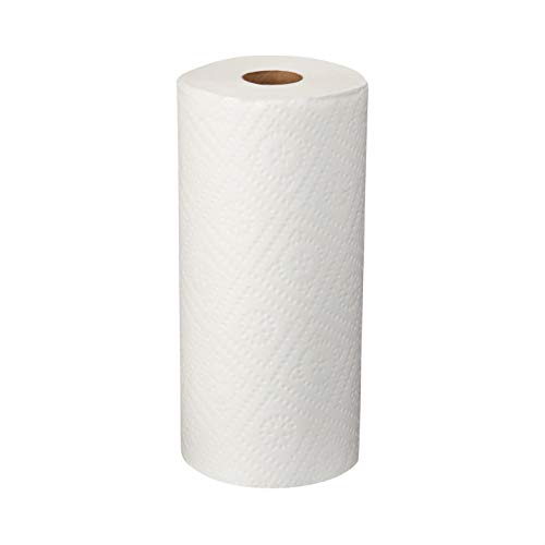 AmazonCommercial Adapt-a-Size Kitchen Paper Towels, 140 Towels per Roll, 30 Rolls