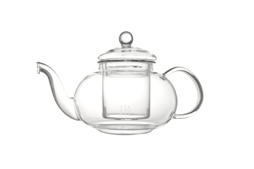 Verona eenwandige glazen theepot 0,5L incl. filter