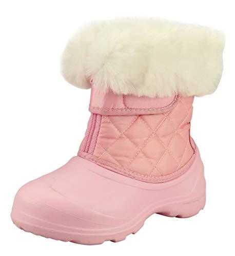 The Doll Maker Botas de nieve rosa Talla: 12 estrecho niño pequeño