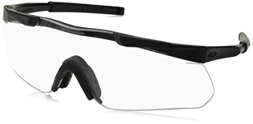 Smith Optics Elite Aegis Arc Asian Fit Eyeshields, Clear/Gray, Black