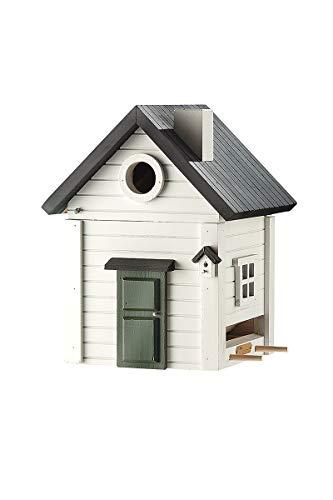 GILDE Vogelhaus Wildlife Garden -wetterbeständiges Holz- für Kleinvögel H 25 cm