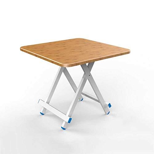Klapptisch Esstisch Haushaltstisch Esstisch Simple Table Home (Color : T4, Size : 60cm)
