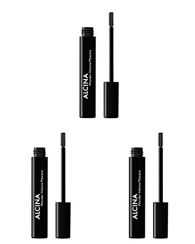 Alcina Wonder Volume Mascara 8ml. 3x