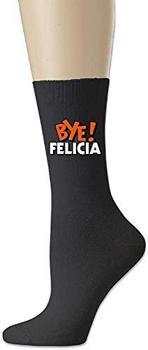 xinfub Men Casual Socks Women Crew Sock 78% Cotton / 20% Nylon / 2% Spandex - Bye Felicia Comfortable1717
