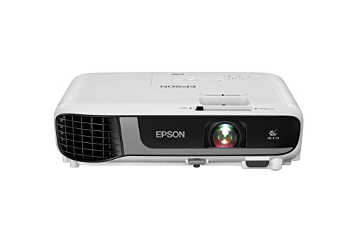 Epson Pro EX7280 3-Chip 3LCD WXGA Projector, 4,000 Lumens Color Brightness, 4,000 Lumens White Brightness, HDMI, Built-in Speaker, 16,000:1 Contrast Ratio