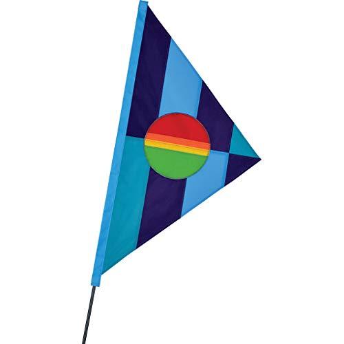 Premier Kites SoundWinds Phoebus Recumbent Bike Flag - Cool Rainbow