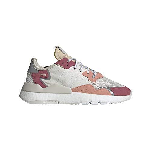 Adidas Nite Jogger W, Zapatos de Escalada para Mujer, Multicolor (Blapur/Casbla/Rostra 000),...