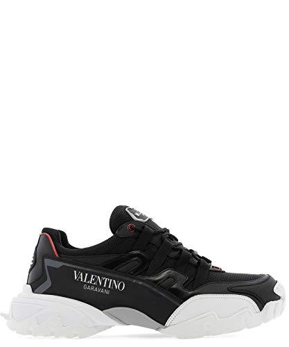 Valentino Luxury Fashion Herren SY2S0C20LJPKCM Schwarz Sneakers | Herbst Winter 19