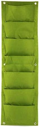 7 Pocket Green Sale Vertical Garden Wall-Mounted Planter Planting Flo Las Vegas Mall