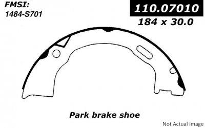 Centric (110.07010) Parking Brake Shoe