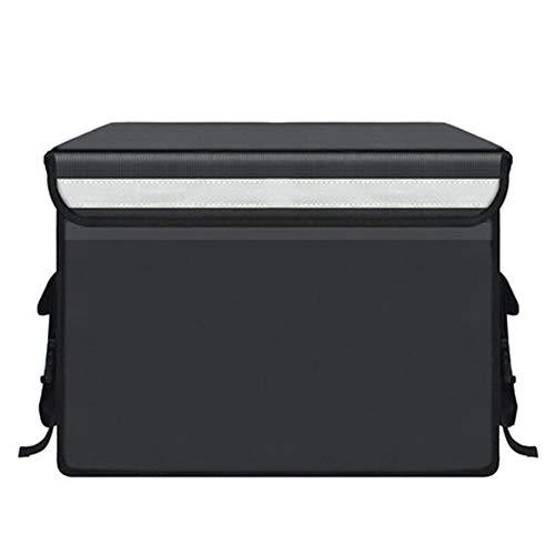 Incubadora de comida para llevar, 30L, 43L, 62L, 70L, 80L Caja de entrega de alimentos refrigerada e impermeable, bolsa de refrigerador...