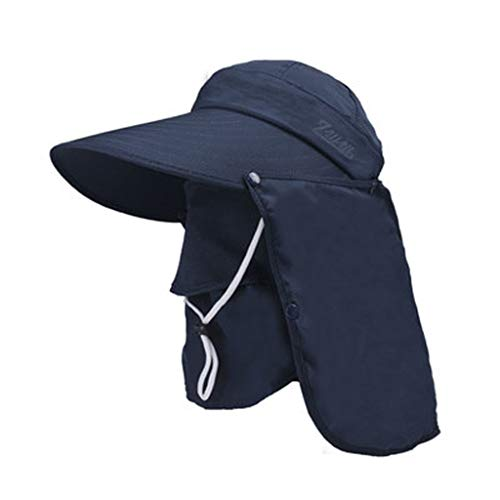 Fine Outdoor Sun Hat Fishing Cap for Man Woman,360°UV Protection, Floppy Beach Sunscreen Cycling...