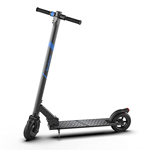 """Brookstone BluGlide Elite 8 Folding Electric Scooter for Adults, Powerful 250W Motor, Up to 16 MPH, Up to 10 Miles Long Range, 8"""" Honeycomb Tires, Large LED Display for Commuting -  Southern Telecom, BSSCT8001BK"""