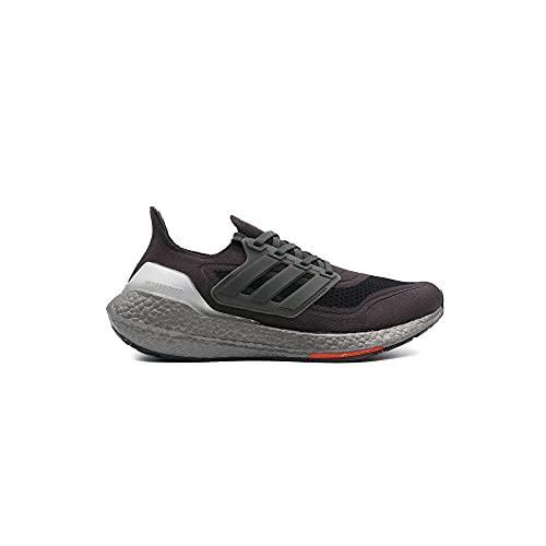 Adidas Ultraboost 21 Calzado Deportivo Running para Hombre Color Carbon/Solar Red Talla 44