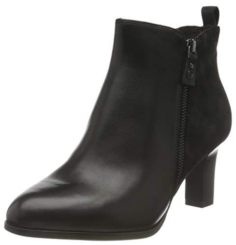 Tamaris Damen 1-1-25028-25 Stiefelette, schwarz, 39 EU