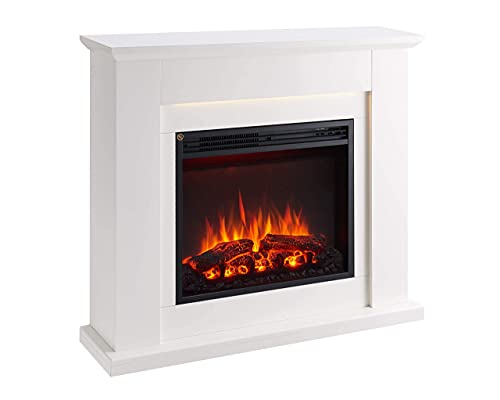 FLAMME Mardella Electric Fireplace Suite 29