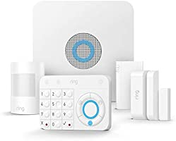 Ring Alarm Kit 5 pièces, Système de sécurité domestique avec surveillance assistée optionnelle, Sans engagement à long...