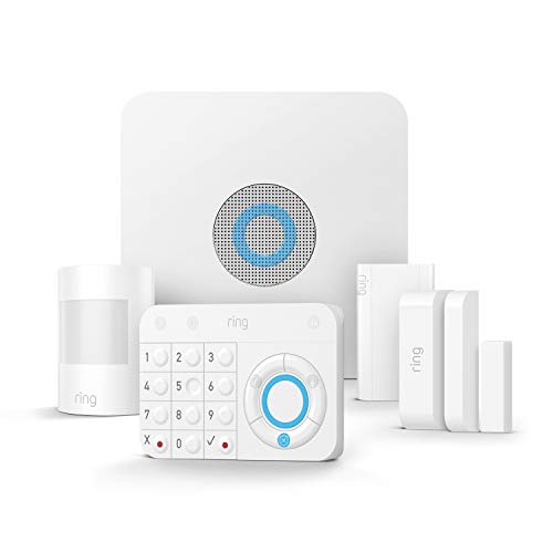 Ring Alarm 5-Piece Kit – Home Security System with optional Assisted Monitoring – No long-term...