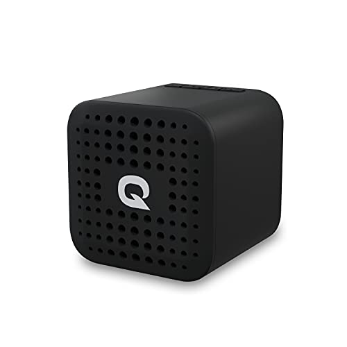 Quantum SoundTrix 31 Bluetooth Speaker, 3W Sound, Powerful Bass, 8hrs Playtime, BT 5.0 connectivity, Micro SD Card Slot and in-Built Noise Cancelling Mic (Black)