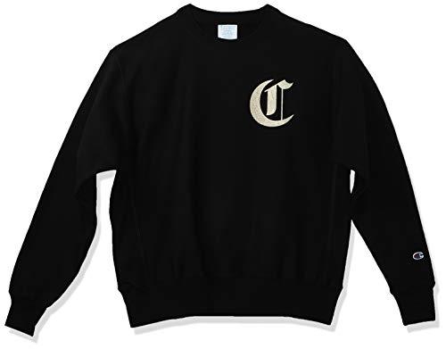 Champion Herren Sweatshirt Life Reverse Weave - Schwarz - Groß