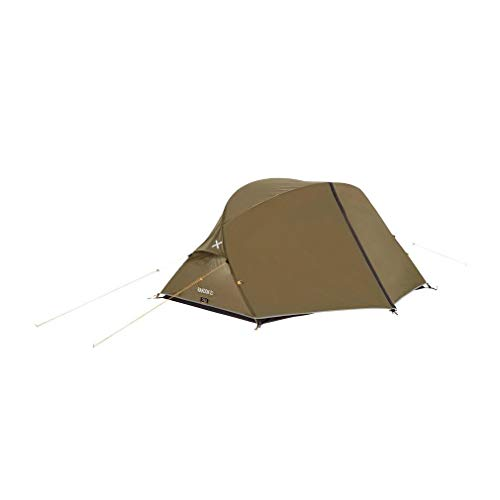 OEX Rakoon II Lightweight Dome Design 2-Person Tent, Olive, One Size