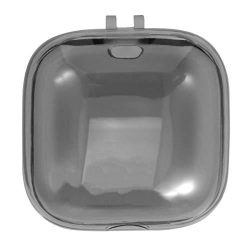 ULTECHNOVO Caixa Protetora de Fones de Ouvido Sem Fio Bolsa de Armazenamento de Fone de Ouvido Sem Fio Transparente Capa de Proteção de Fones de Ouvido Compatível para Powerbeats Pro (Preto)