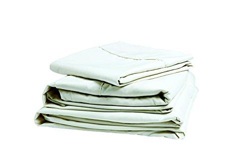 Denver 343506 RV King Size Sateen Sheet Set White