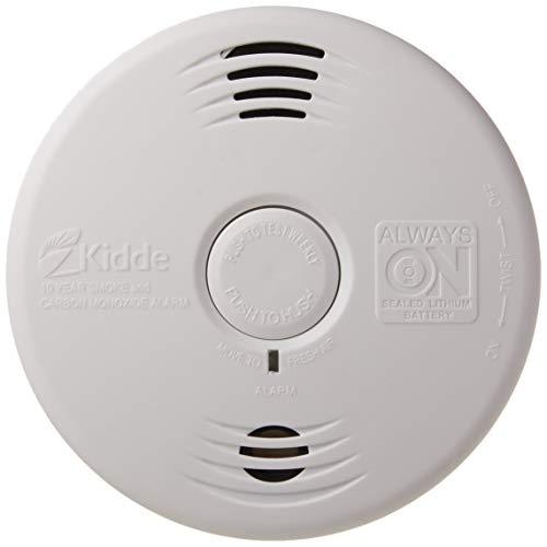 Kidde Smoke & Carbon Monoxide Detector, Lithium Battery Powered, Combination Smoke & CO Alarm with Voice Alert