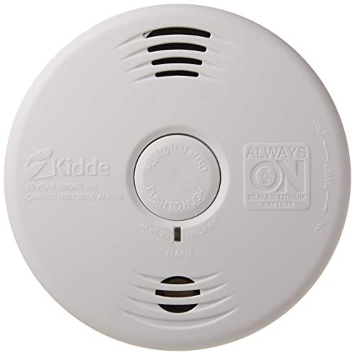 Kidde P3010CU Lithium Battery Smoke and Carbon Monoxide Detector Alarm Voice Warning Photoelectric Sensor