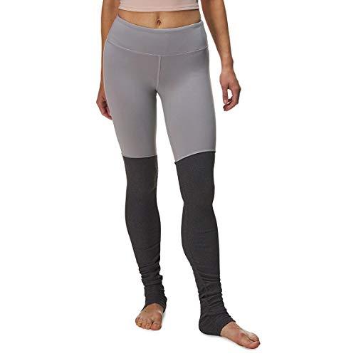 Alo Yoga Women's Goddess Legging, Alloy/Stormy Heather, S