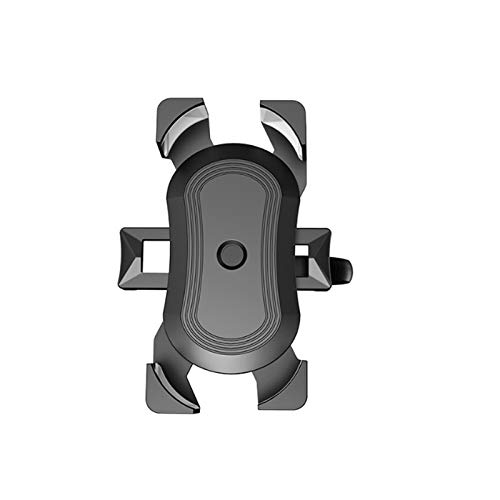 yywl Soporte universal para teléfono móvil en el manillar de la bicicleta, soporte para teléfono móvil, soporte para teléfono móvil, soporte de clip, soporte para manos libres, rotación libre