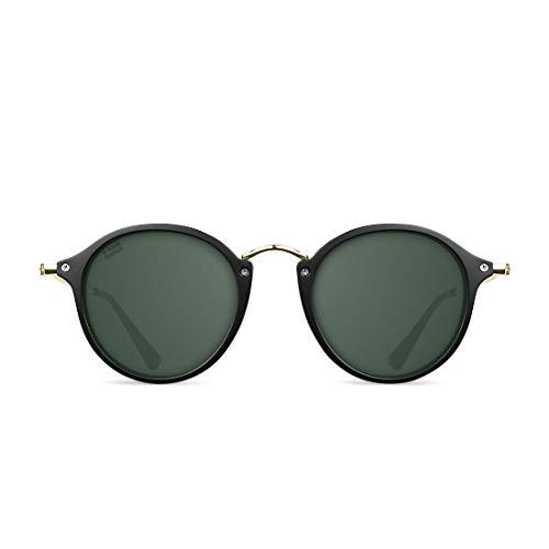 D. Franklin Unisex-Erwachsene Roller TR90 Sonnenbrille, Schwarz (Negro), 48