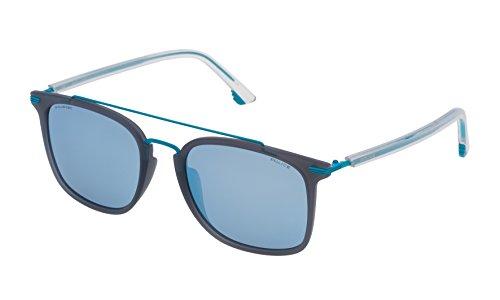 Police SPL58354M20P Gafas de sol, Azul, 54 Unisex