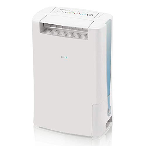 EcoAir DD128 Desiccant Dehumidifier with Ioniser and Silver Filter, 8 L - Blue