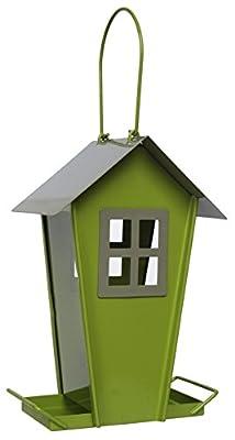 "Supa ""Sutherland"" Wild Bird Seed Feeder , House Shaped Contemporary Feeder , Ideal For Small & Medium Sized Garden Birds from Supa"