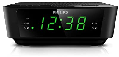 Philips AJ3232B/37 Big Display Clock Radio
