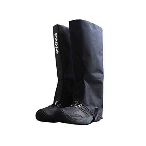 屋外ジャングル蛇防止レッグガーゲーター登山とキャンプマッドガード靴カバーに適した3層防水レギンス (Color : C, Size : X-Large)