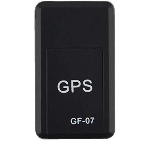 Gracy Localizador GPS Mini antirrobo localizador GPS Seguimiento en Tiempo Real del Dispositivo de posicionamiento de Dispositivos para Niños Elder PetsGPS Equipo de navegación