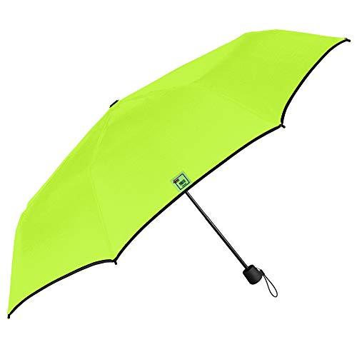 Paraguas Mujer Colorado Plegable de Bolso - Sombrilla Chica Manual Ultra Ligera Resistente -...