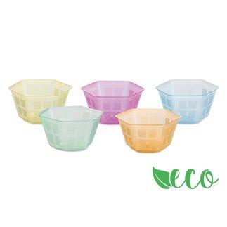 100menstrual en polipropileno Biodegradable multicolor Tamaño: 3,9h cm Ø7,5 Capacidad: 100cc Otros tamaños a petición