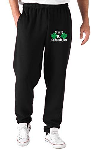T-Shirtshock Pantalones Deportivos Negro TIR0176 Shake YER Shamrocks