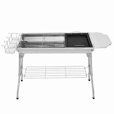 Learn More About WSZZF311 Easy Disassembly Grills Portable Charcoal Barbecue Rack Stainless Steel Fo...