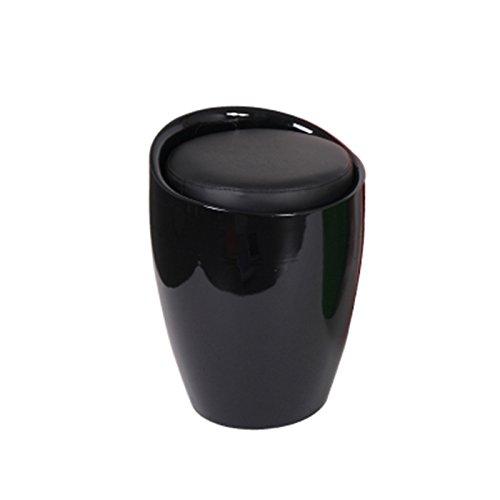 No Band Badkuip, barkruk, zilvergrijs, van ABS-kunstleer, stoel, make-uptafel, kruk voor woonkamer, 35 x 50 cm, 403